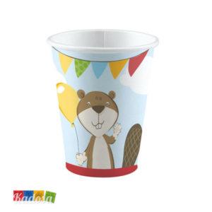 Bicchieri ANIMALETTI del Bosco incantato - Kadosa