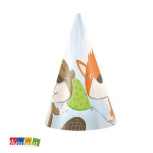 Cappellini Cono ANIMALETTI del Bosco incantato - Kadosa