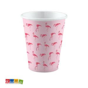 Bicchieri Fenicottero Rosa Pink Flamingo - Kadosa