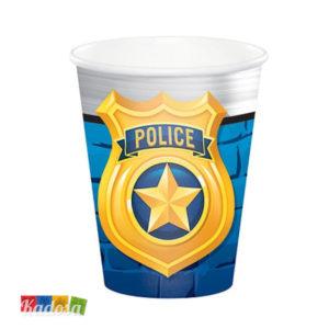 Bicchieri POLIZIA - Police Party - Kadosa