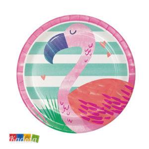 Piatti Fenicottero Pink Flamingo - Kadosa