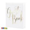 Guest Book Matrimonio Bianco e scritta ORO - Kadosa