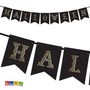 Ghrilanda halloween Black banner - Kadosa
