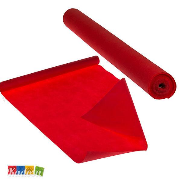 Runner Rosso tovaglia natale tappeto tessuto non tessuto - Kadosa