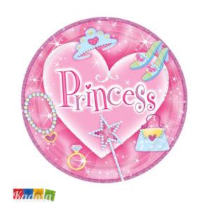8 Piatti PRINCIPESSA Princess - Kadosa