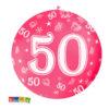 Palloncini Giganti 50 Anni da 1 Metro Set 5 pz in Colori Assortiti - Kadosa