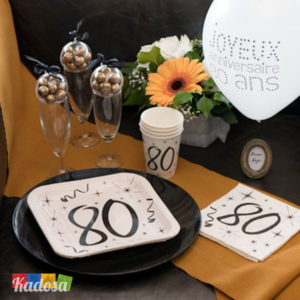 Set 80 Anni Elegant