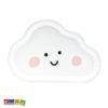6 Piatti Nuvola Piatto di carta Nuvoletta Cloud Spazio Compleanno 1 Anno nuvoletta bimbo bimba aereo aeroplano pilota TPP49 - Kadosa