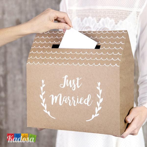 Gift Box Matrimonio Casetta Country Natural - Kadosa