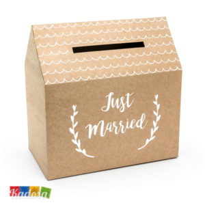 Gift Box Matrimonio Casetta Country Natural - Kadosa