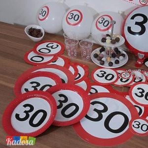Set Segnale Stradale 30