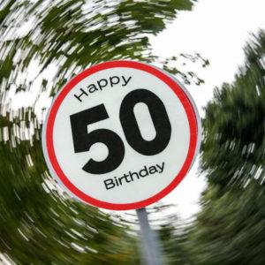 Set Segnale Stradale 50