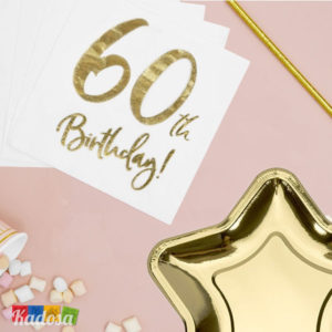Set 60 anni Oro