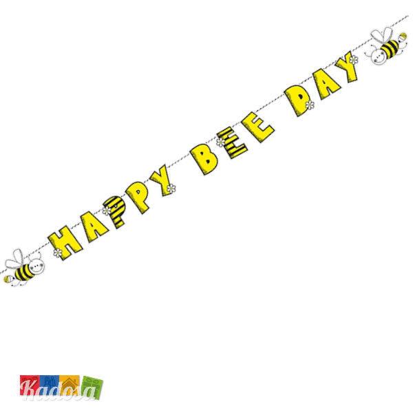 Ghirlanda Ape HAPPY BEE DAY da Appendere - Kadosa