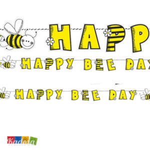 Ghirlanda Ape HAPPY BEE DAY da Appendere - Kadosa