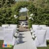 Tappeto Cerimonia Bianco 100 cm x 15 Metri Matrimonio Wedding Chiesa Sposa Damigelle - Kadosa