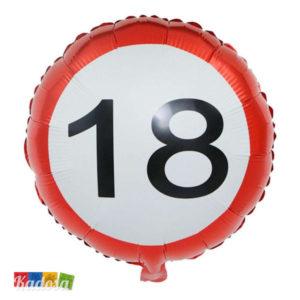Palloncino Foil 18 anni balloon compleanno diciottesimo party festa accessori allestimento - Kadosa 62-0829