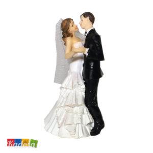 Wedding Cake Topper Sposi Ballerini Ballo Lento Statuine Pupazzi Nozze Torta Nuziale Decorazione Matrimonio - Kadosa