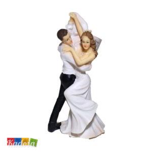 Wedding Cake Topper Sposi Ballerini Ballo Statuine Pupazzi Nozze Torta Nuziale Decorazione Matrimonio - Kadosa