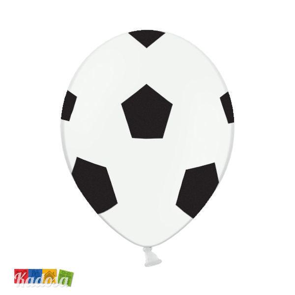 Palloncini Calcio Grandi in Lattice Naturale Set 6 pz - Kadosa