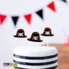 Bellissime Candeline Pirati per una Torta Arrembante Set 6 pz - Kadosa