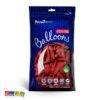 Palloncini Rossi Tinta Unita Biodegradabili 10 pz - Kadosa