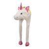 Berretto animali UNICORNO peluche berretto caldo inverno carnevale unicorn festa bambini adulti taglia unica rosa - Kadosa