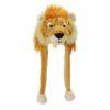 Berretto peluche LEONE Lion cappello caldo inverno carnavale festa bambino adulto taglia unica teatro 33224 - Kadosa