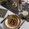 Compleanno nero e oro anni festa compleanno party 95_6788