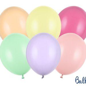 10 Palloncini Mix colori pastello Festa compleanno party pastel auguri balloon SB14P-000P-10 Kadosa