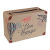 Valigia portabuste Bon Voiage compleanno party festa a tema buon viaggio partenza erasmus trasferimento matrimoni